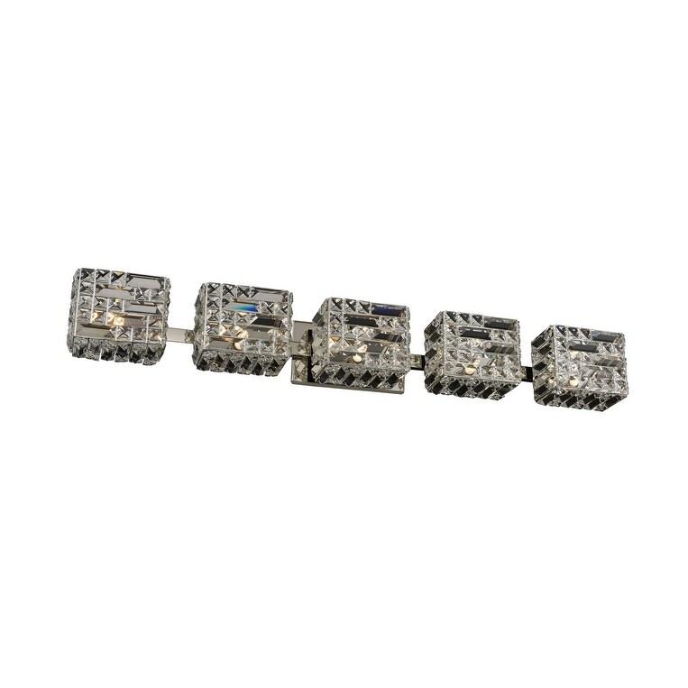 Allegri 035235046FR001 LED Bath Marazzi Polished Nickel - One Size (One Size - Clear)
