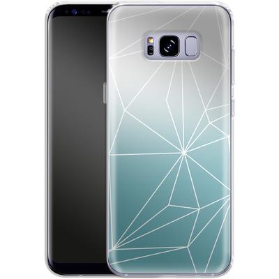 Samsung Galaxy S8 Plus Silikon Handyhuelle - Simplicity 2 von Mareike Bohmer