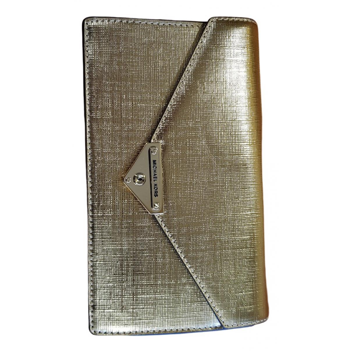 Michael Kors N Gold Clutch bag for Women N