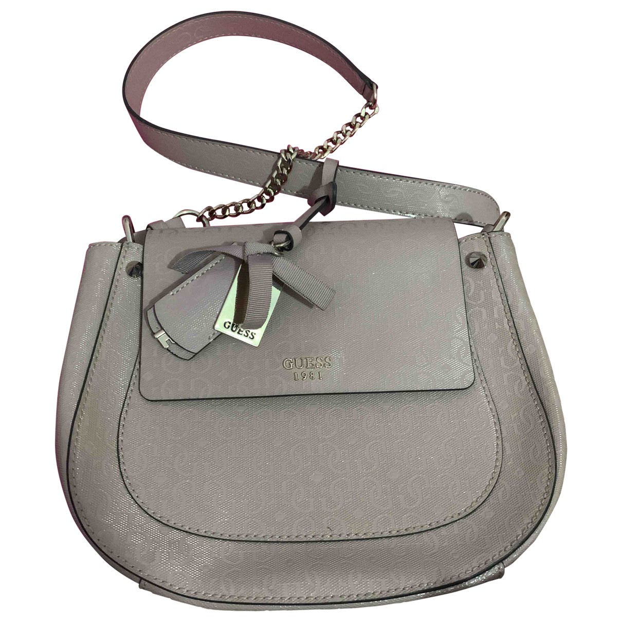 Guess \N Leather handbag for Women \N