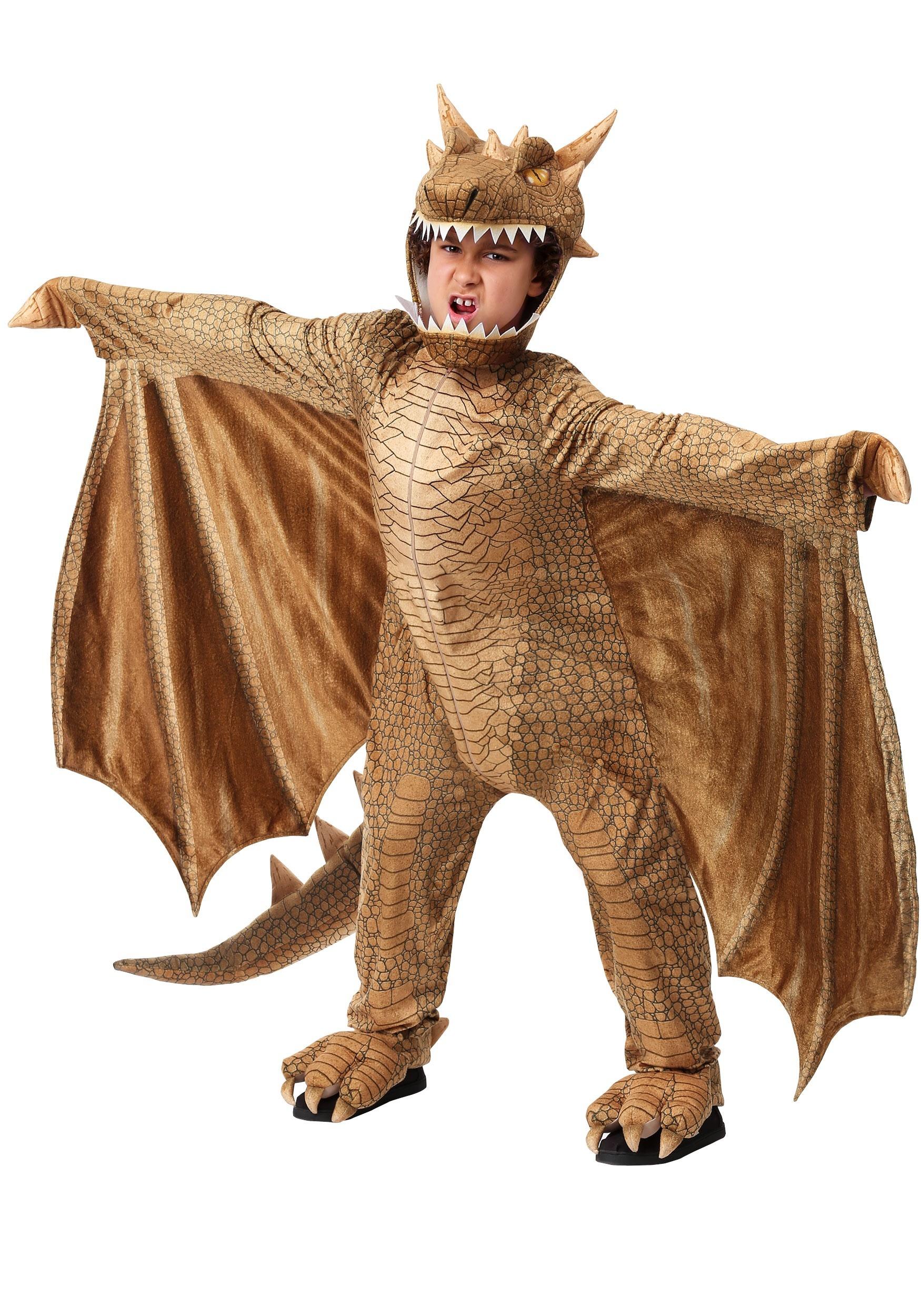 Fantasy Dragon Child's Costume