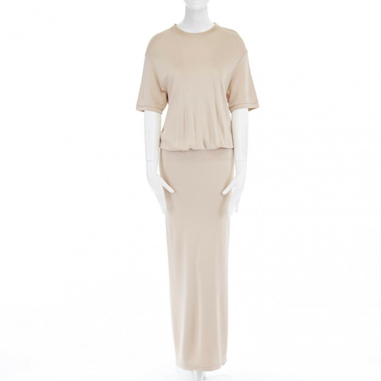 Givenchy \N Kleid in  Beige Synthetik