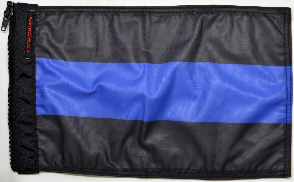 Forever Wave 5118 Thin Blue Line Flag