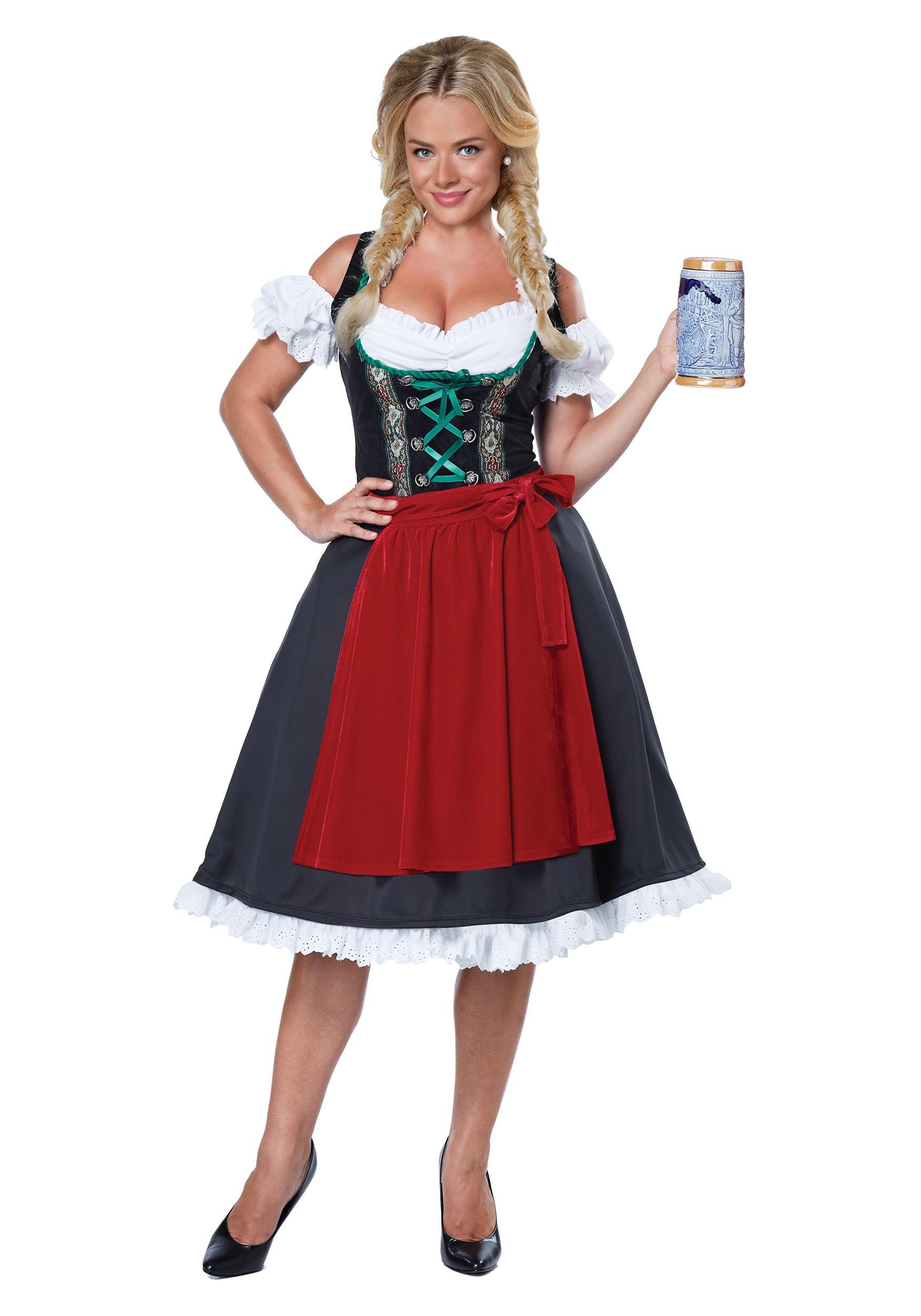 Oktoberfest Fraulein Costume for Women
