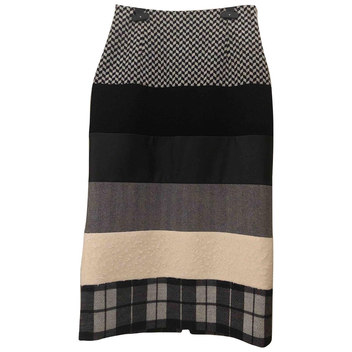 Intrend - Jupe   pour femme en coton - elasthane - multicolore