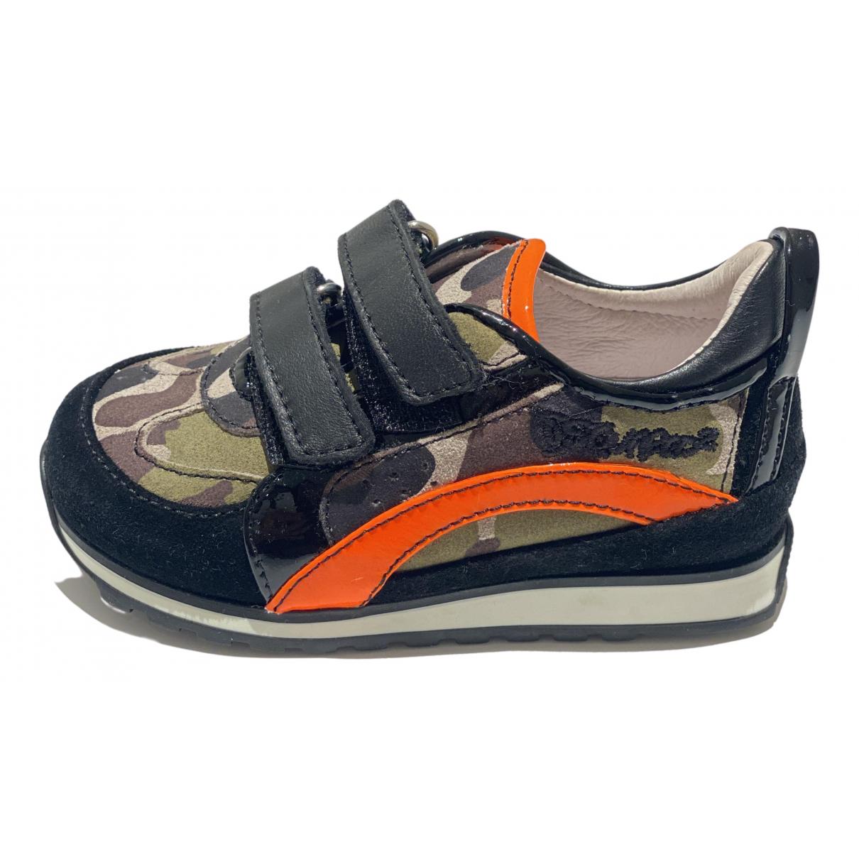 Dsquared2 \N Sneakers in  Schwarz Veloursleder