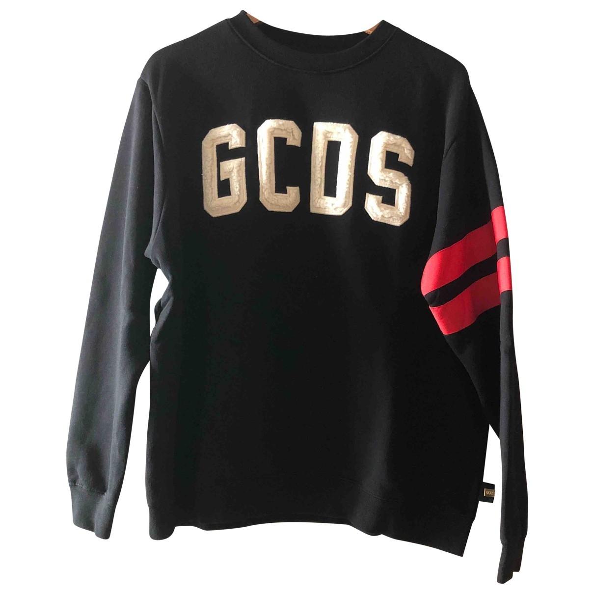 Gcds \N Black Cotton Knitwear & Sweatshirts for Men S International