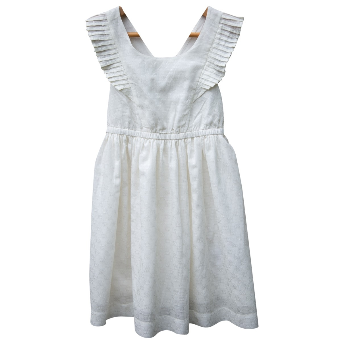 Cyrillus \N Kleid in  Beige Baumwolle