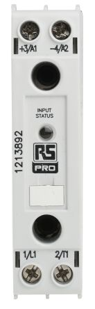 RS PRO 20 A SP Solid State Relay, DIN Rail, 530 Vrms Maximum Load