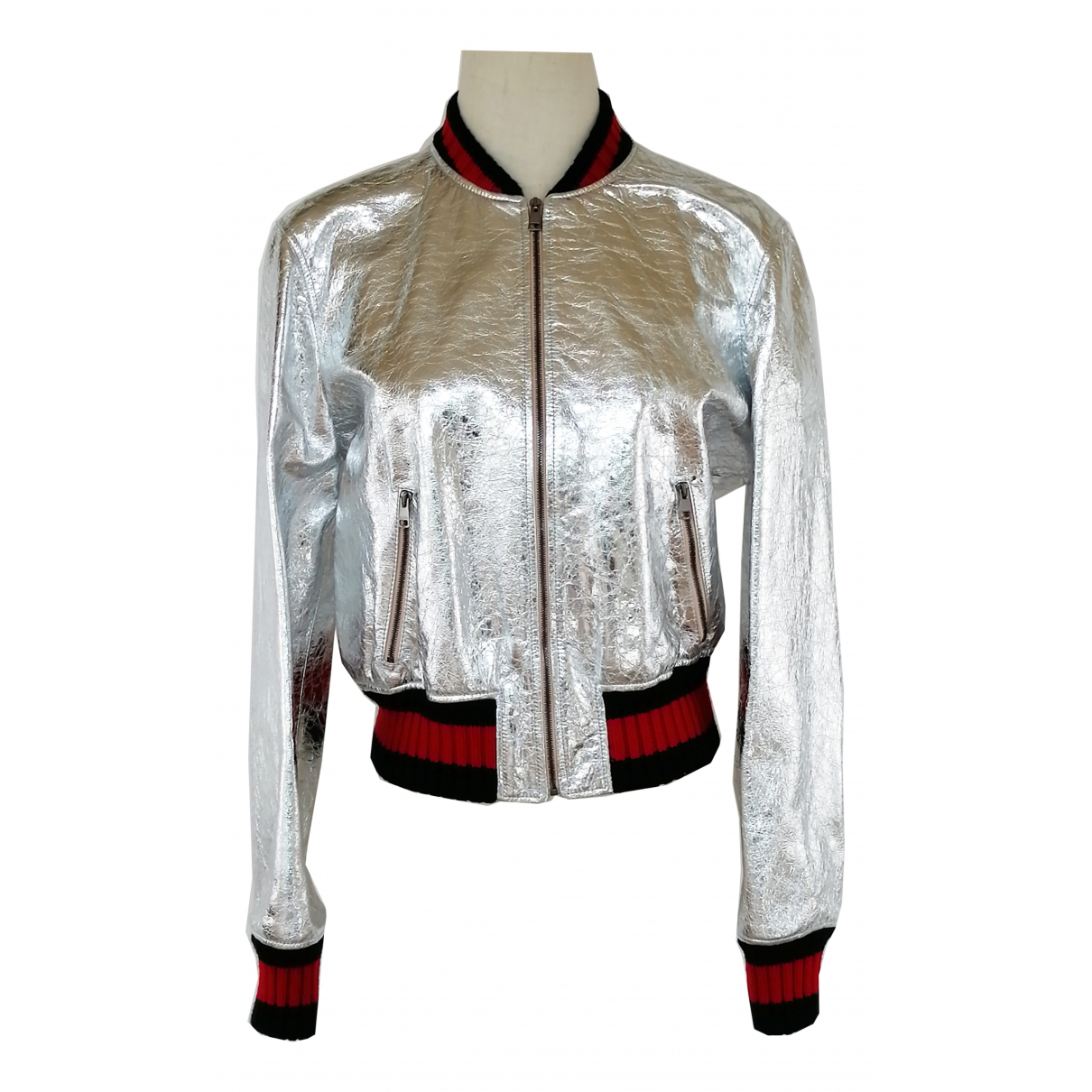 Gucci \N Metallic Leather jacket for Women One Size IT