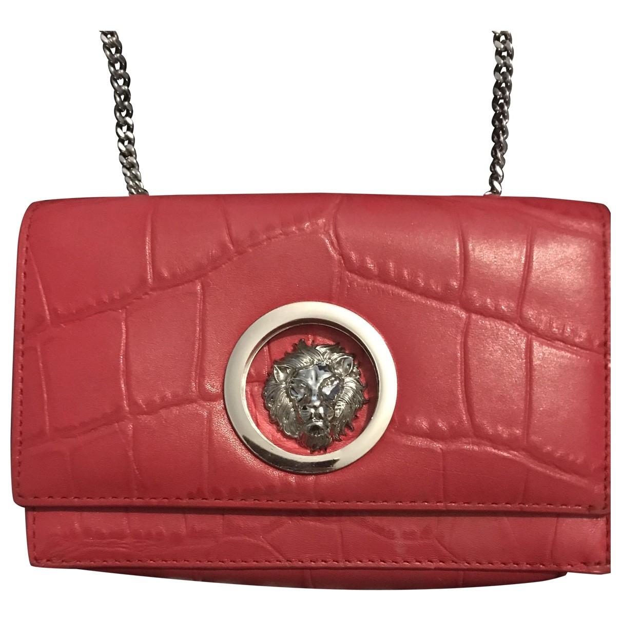 Versus \N Handtasche in  Rot Leder