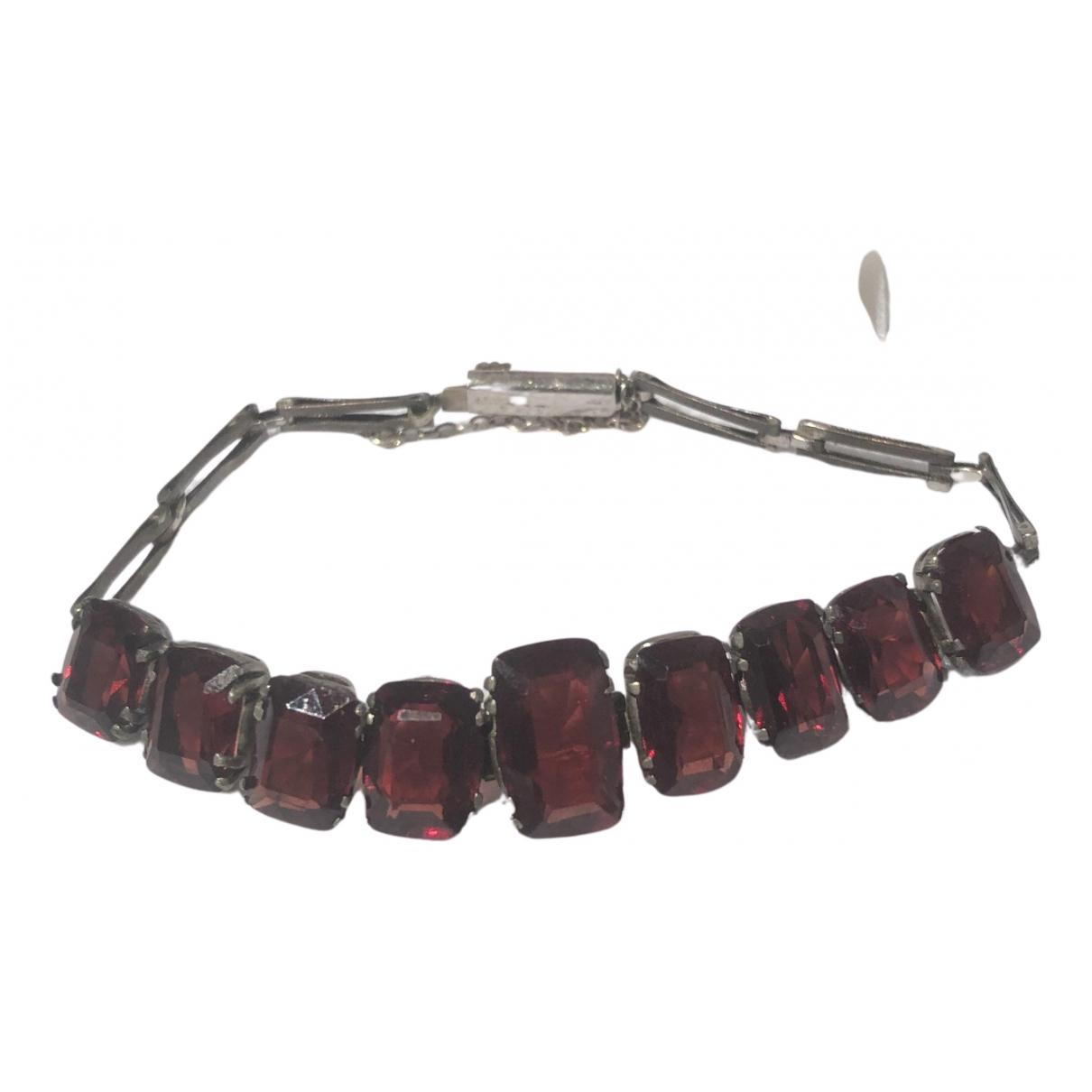 - Bracelet   pour femme en argent - rouge