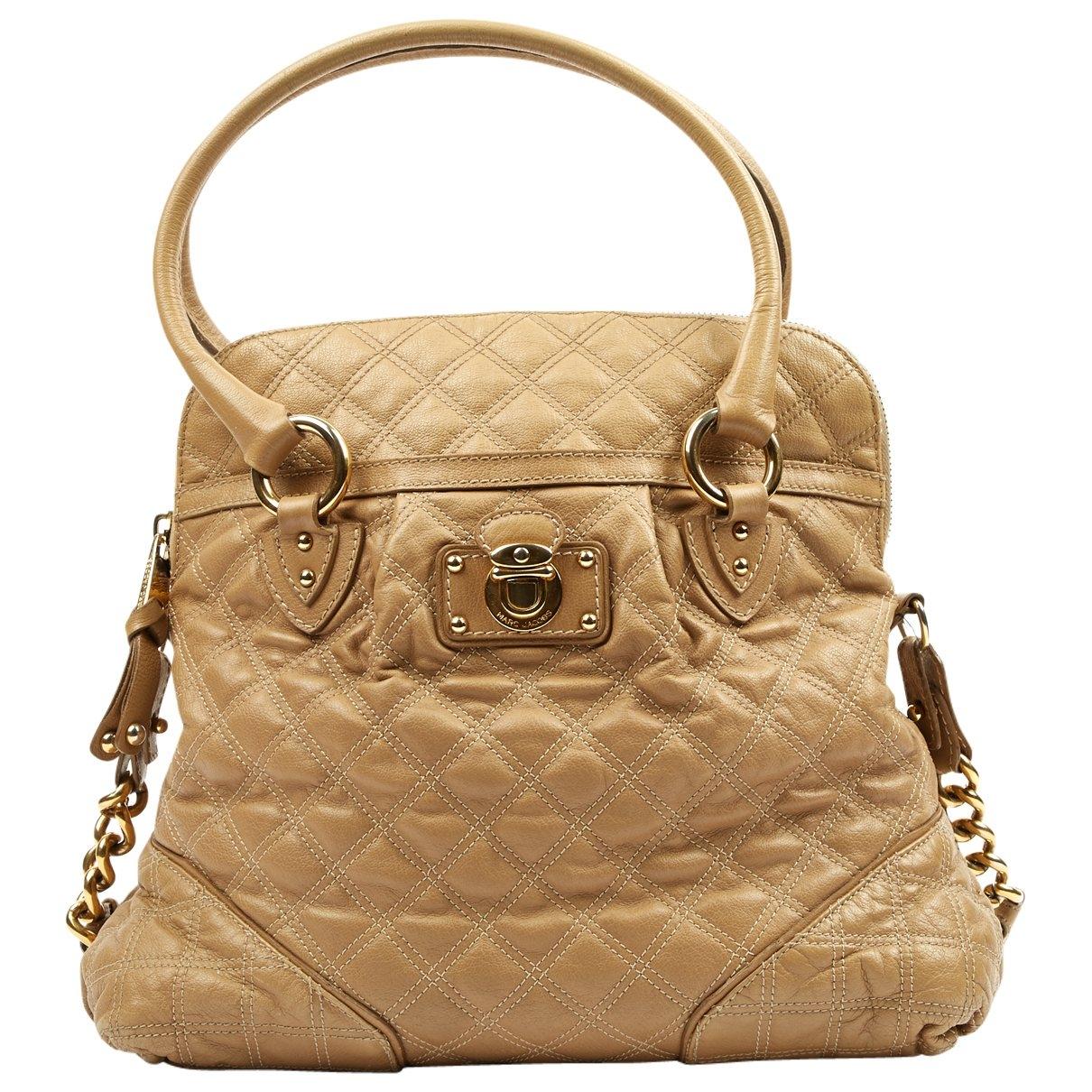Marc Jacobs \N Beige Leather handbag for Women \N