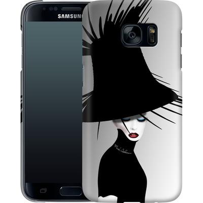 Samsung Galaxy S7 Smartphone Huelle - Black Hat von Mark Ashkenazi