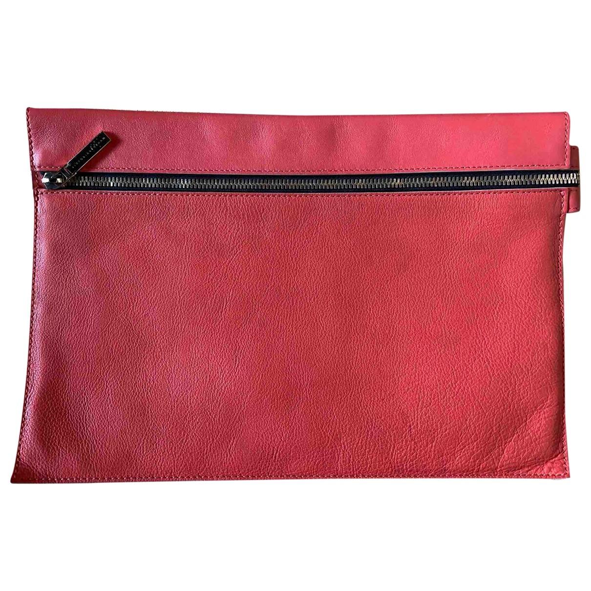 Victoria Beckham \N Leather Clutch bag for Women \N