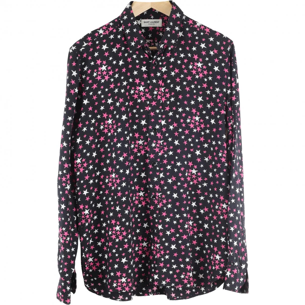 Saint Laurent \N Multicolour Shirts for Men 40 EU (tour de cou / collar)