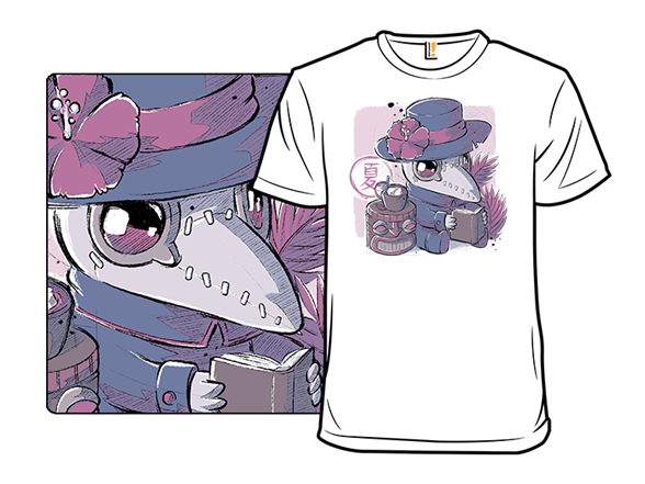 Summer Plague Doctor T Shirt