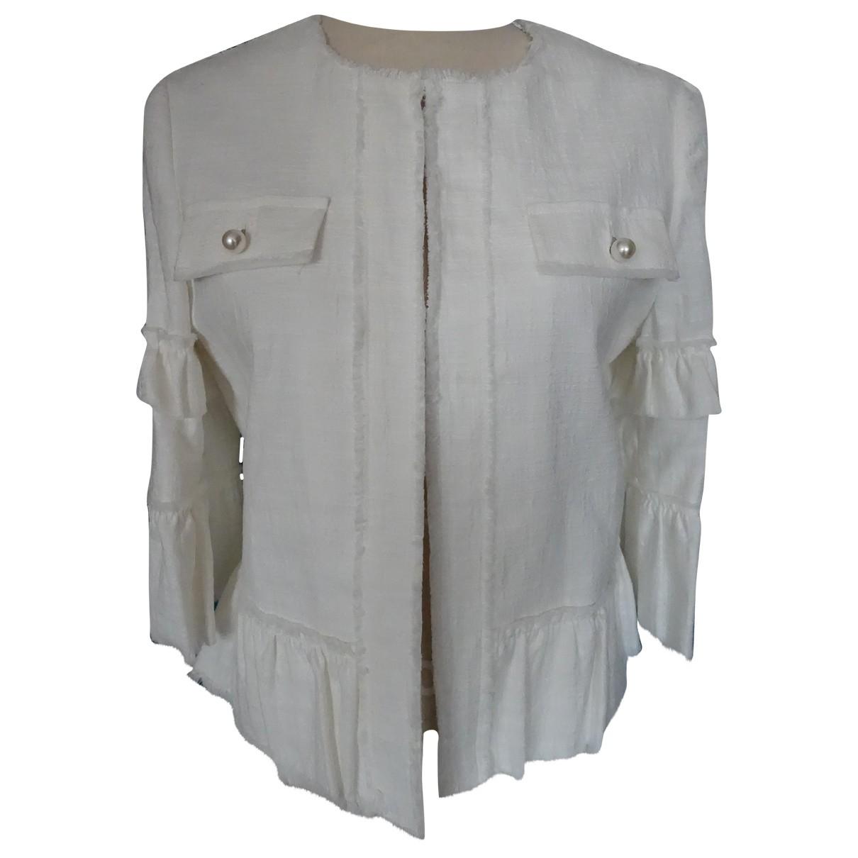 Liu.jo - Blouson   pour femme en coton - blanc