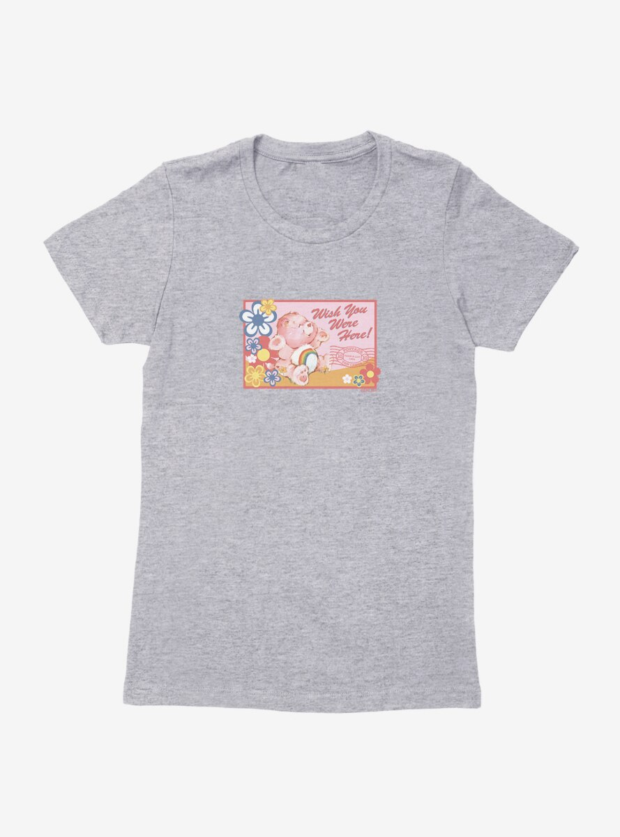 Care Bears Cheer Bear Stamp Womens T-Shirt