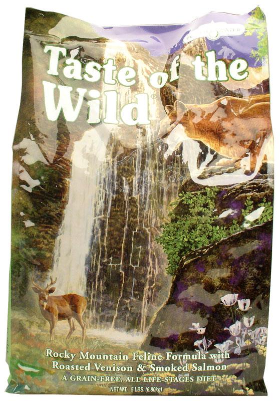 Taste of the Wild Rocky Mountain Cat Food (5 lb)