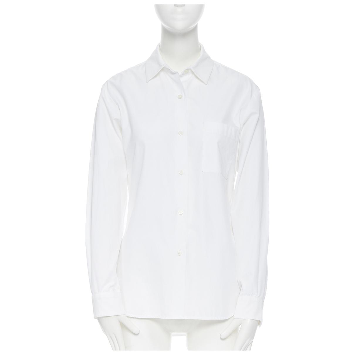 Victoria Beckham - Top   pour femme en coton - blanc