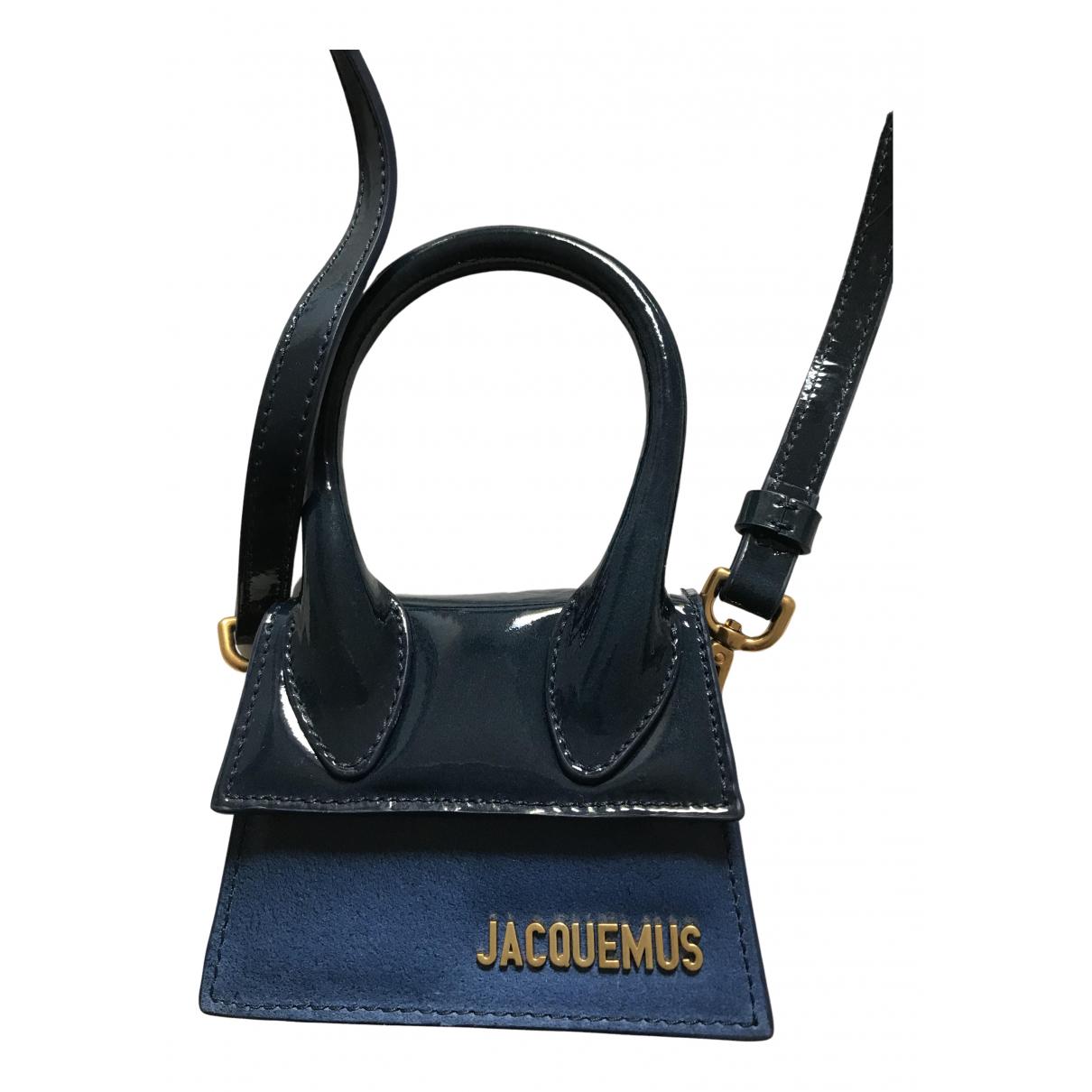 Jacquemus Chiquito Blue Leather handbag for Women N