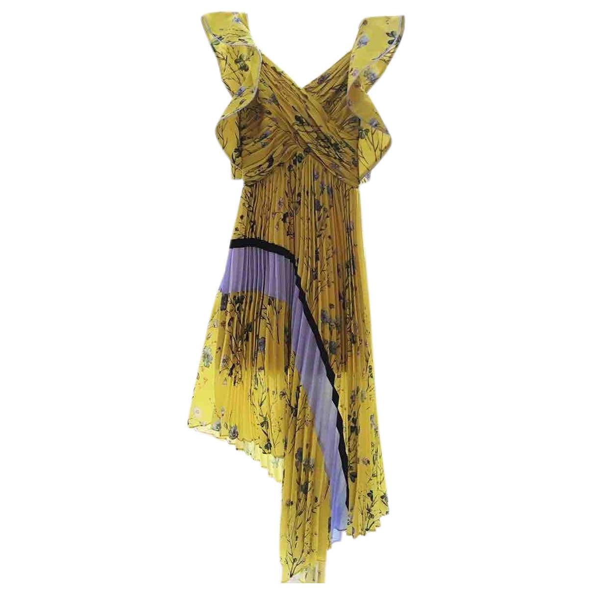 Self Portrait \N Yellow dress for Women 8 UK