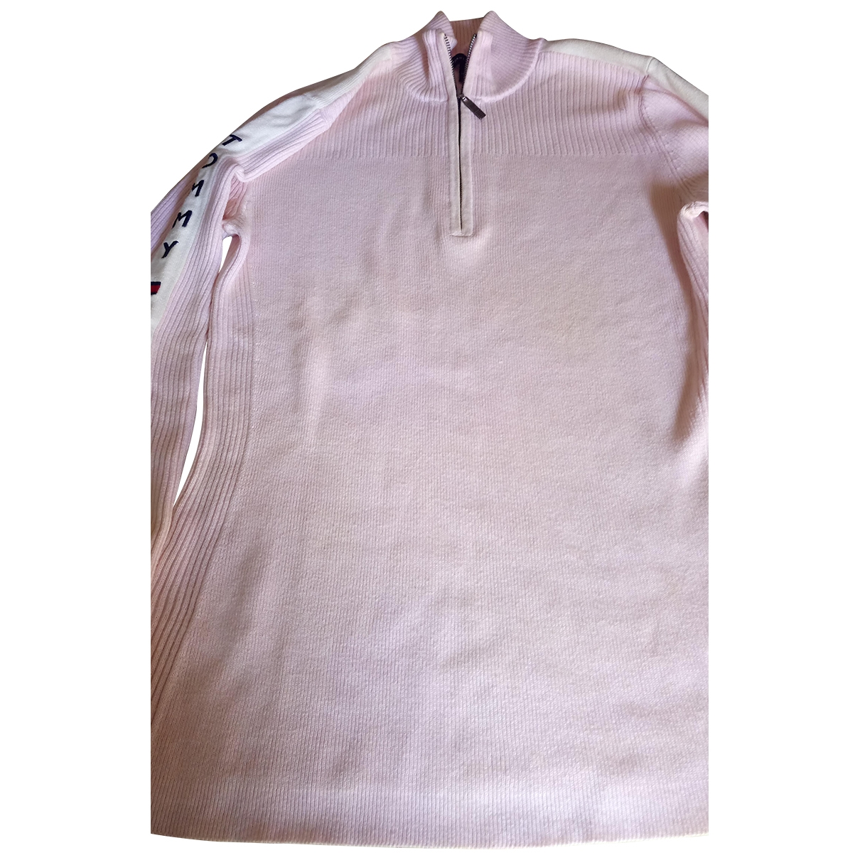 Tommy Hilfiger - Pull   pour femme en coton - rose
