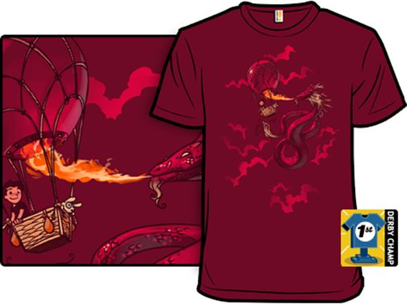 Red Summer Skies T Shirt