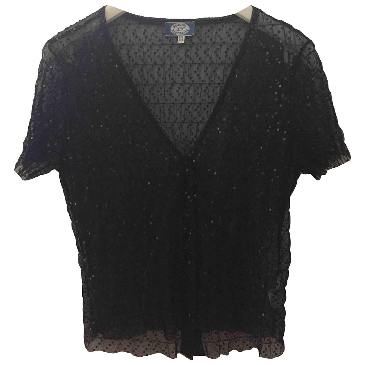 Blumarine \N Top in  Schwarz Polyester