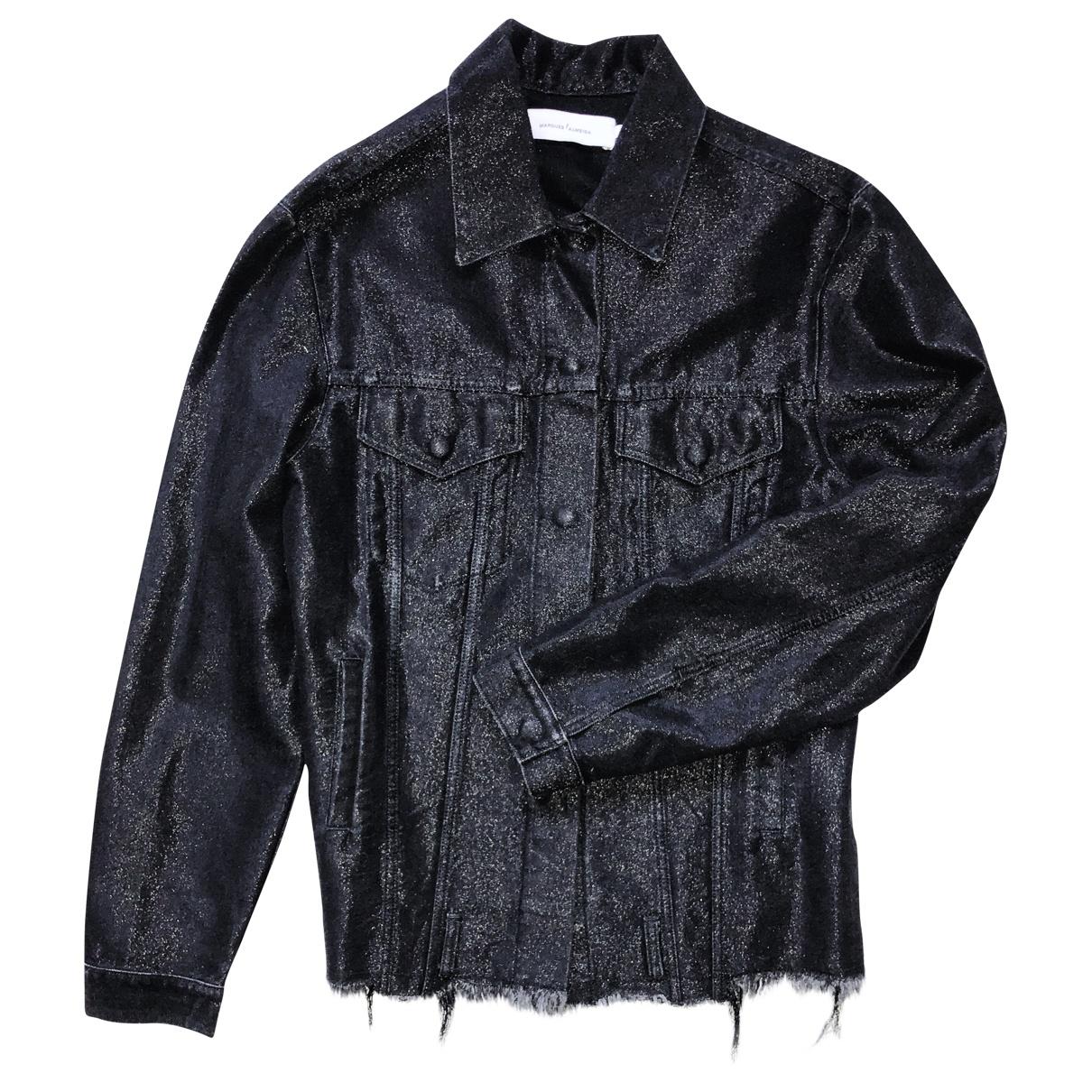 Marques Almeida \N Black Denim - Jeans jacket for Women M International