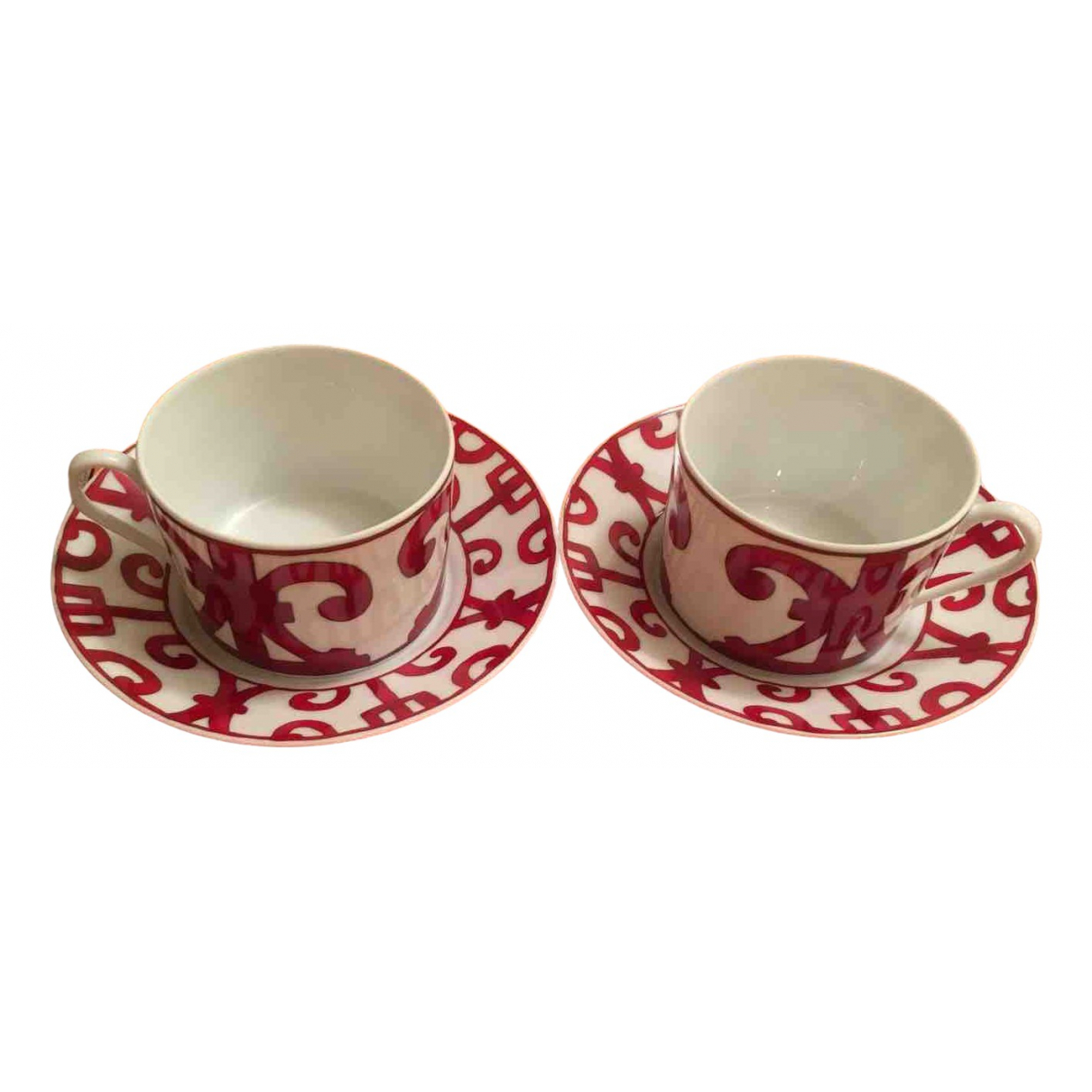 Juego de te/cafe Balcon du Guadalquivir de Porcelana Hermes