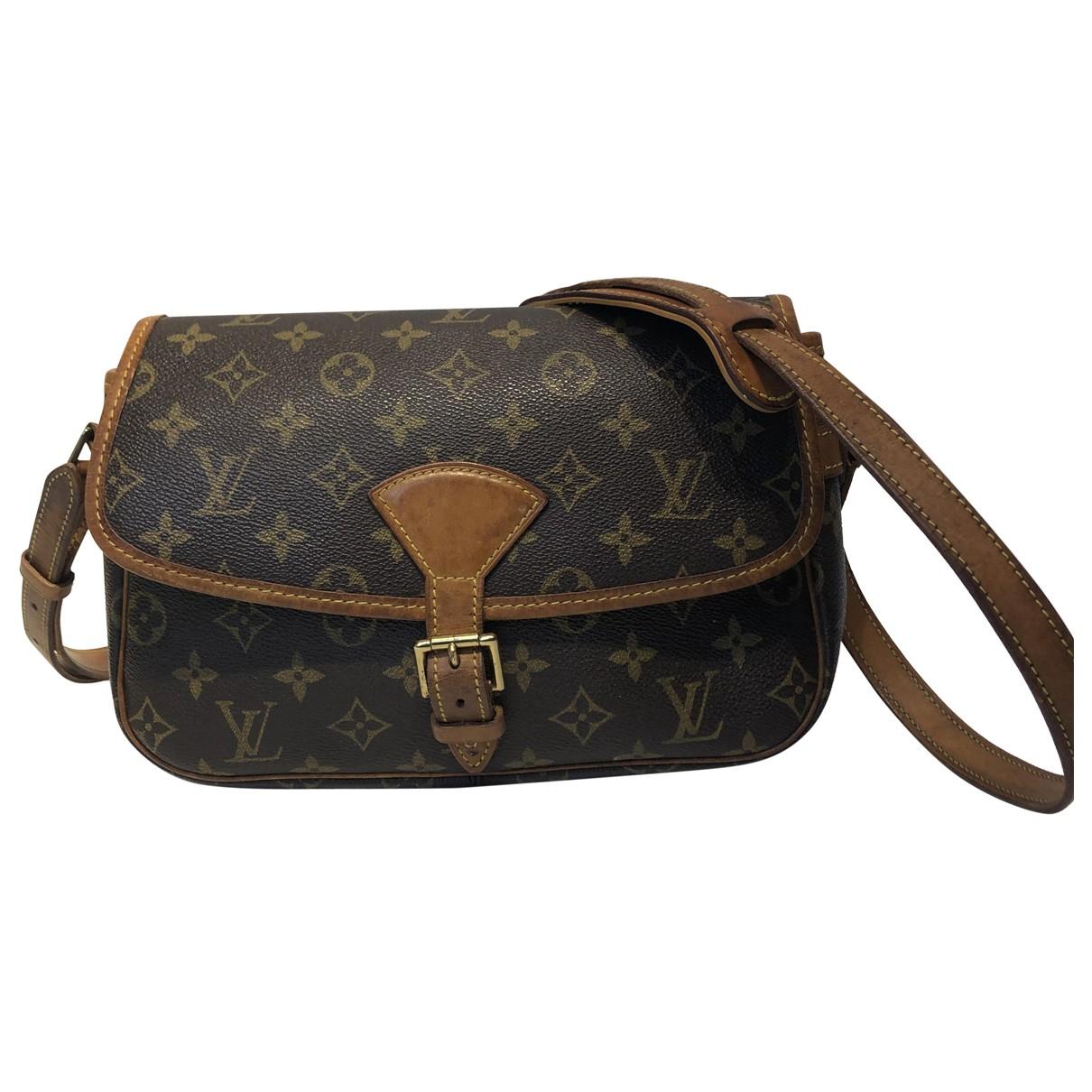 Louis Vuitton Sologne Brown Cloth Clutch bag for Women \N