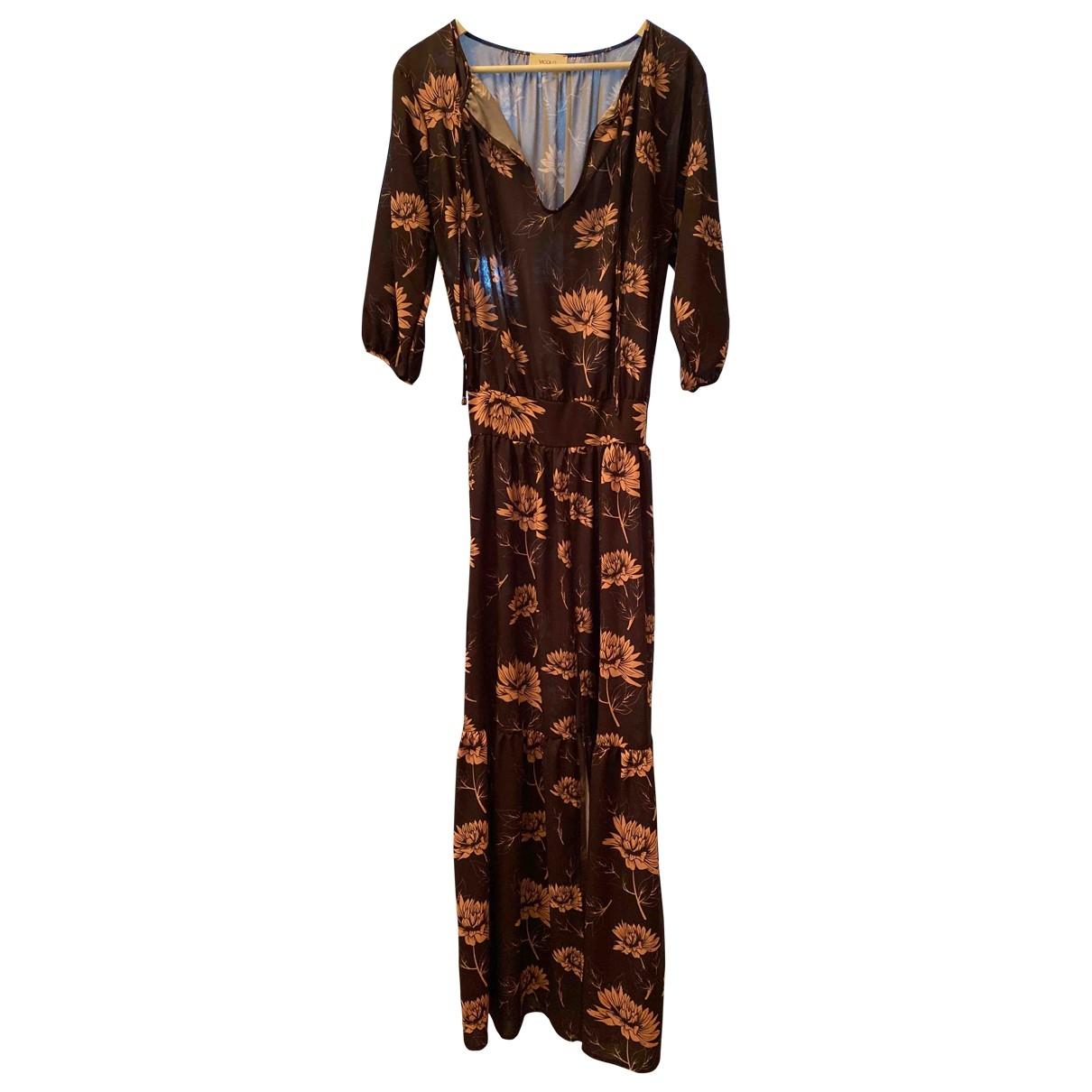 Vicolo - Robe   pour femme en coton - multicolore