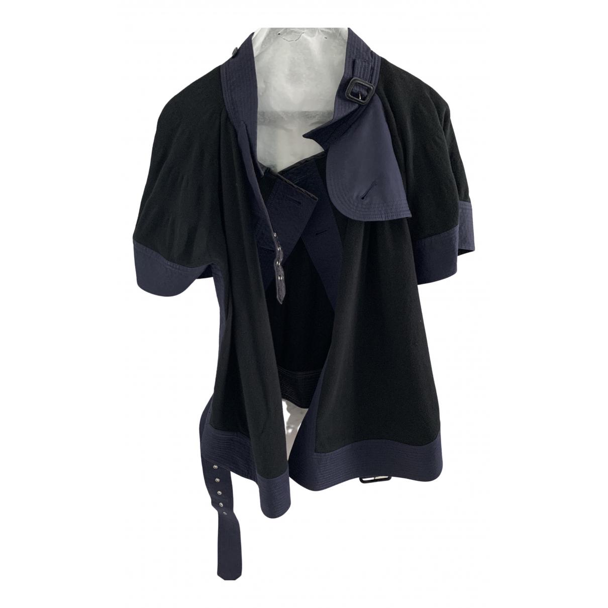Sacai \N Navy Cotton jacket for Women 1 0-5