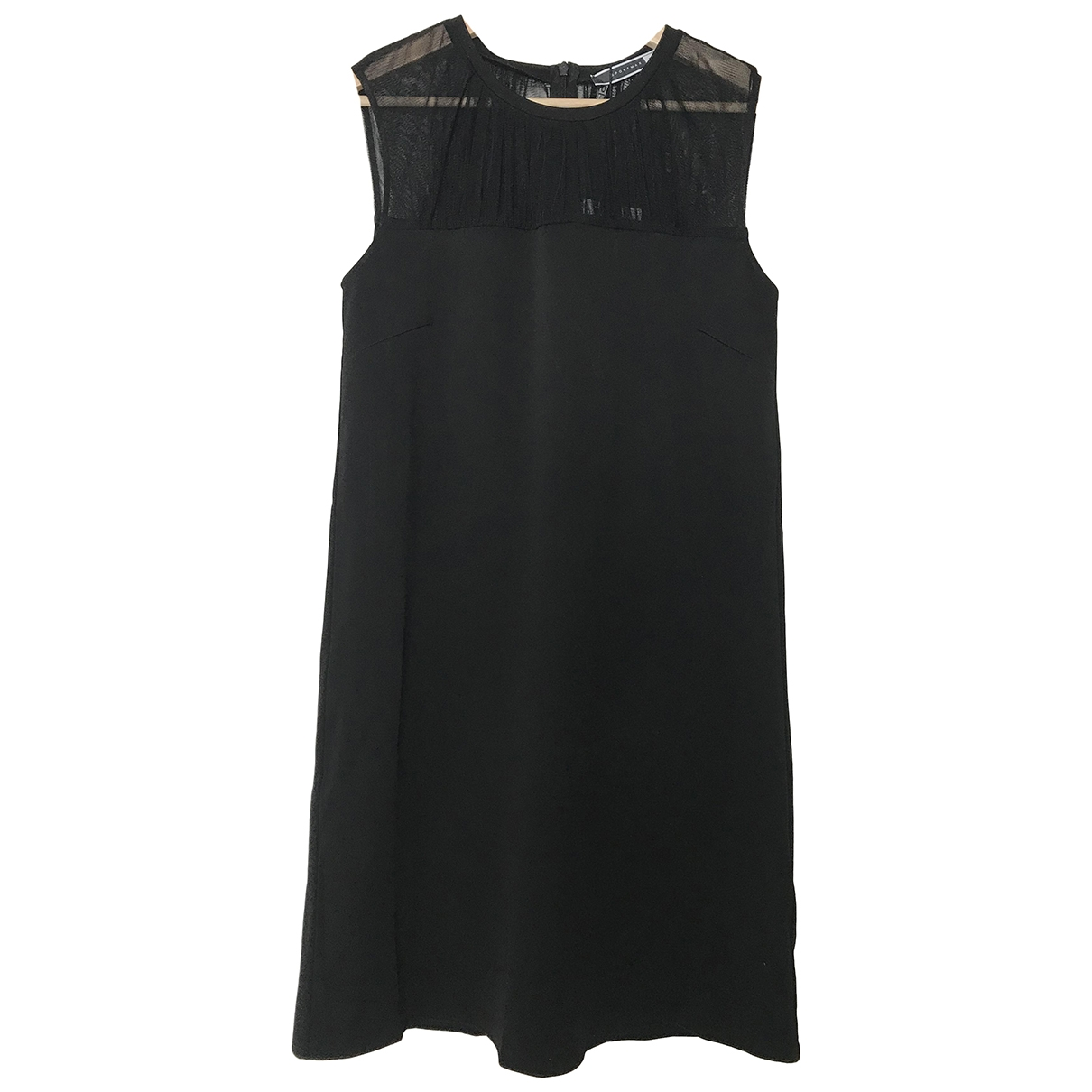 Sport Max \N Kleid in  Schwarz Synthetik