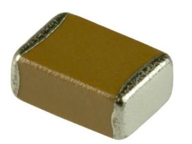 KEMET 0603 (1608M) 1nF Multilayer Ceramic Capacitor MLCC 50V dc ±5% SMD C0603C102J5GACTU (500)