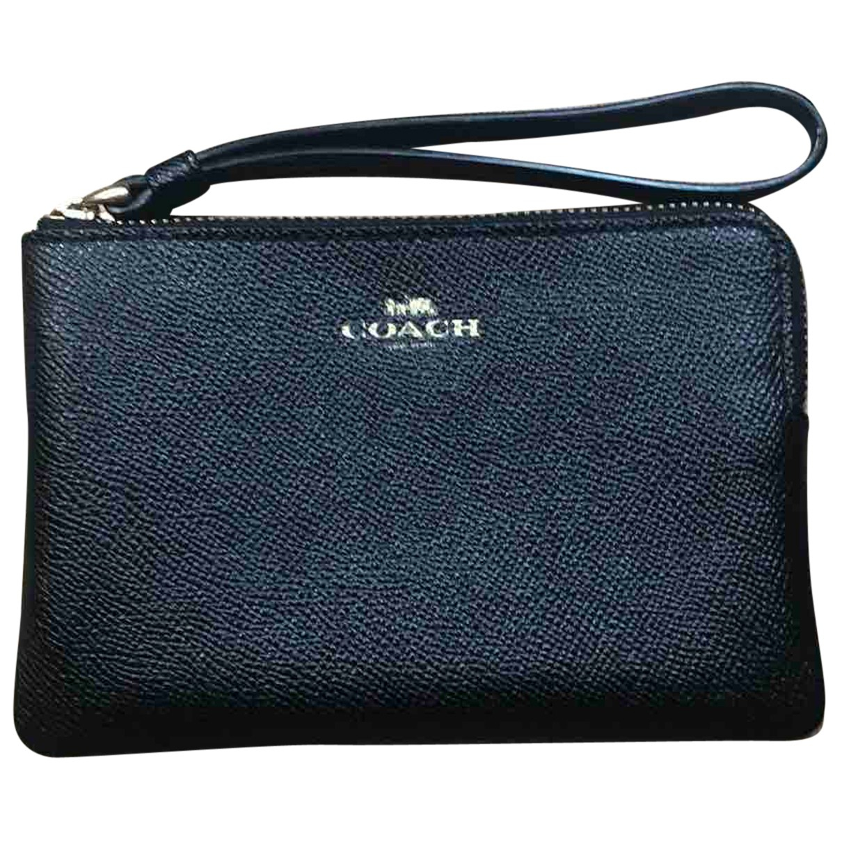 Coach N Black Leather Purses, wallet & cases for Women N