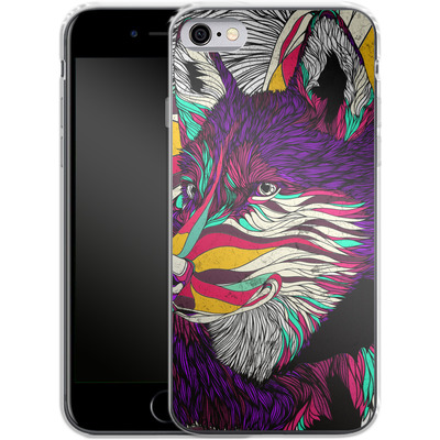 Apple iPhone 6s Silikon Handyhuelle - Color Husky von Danny Ivan