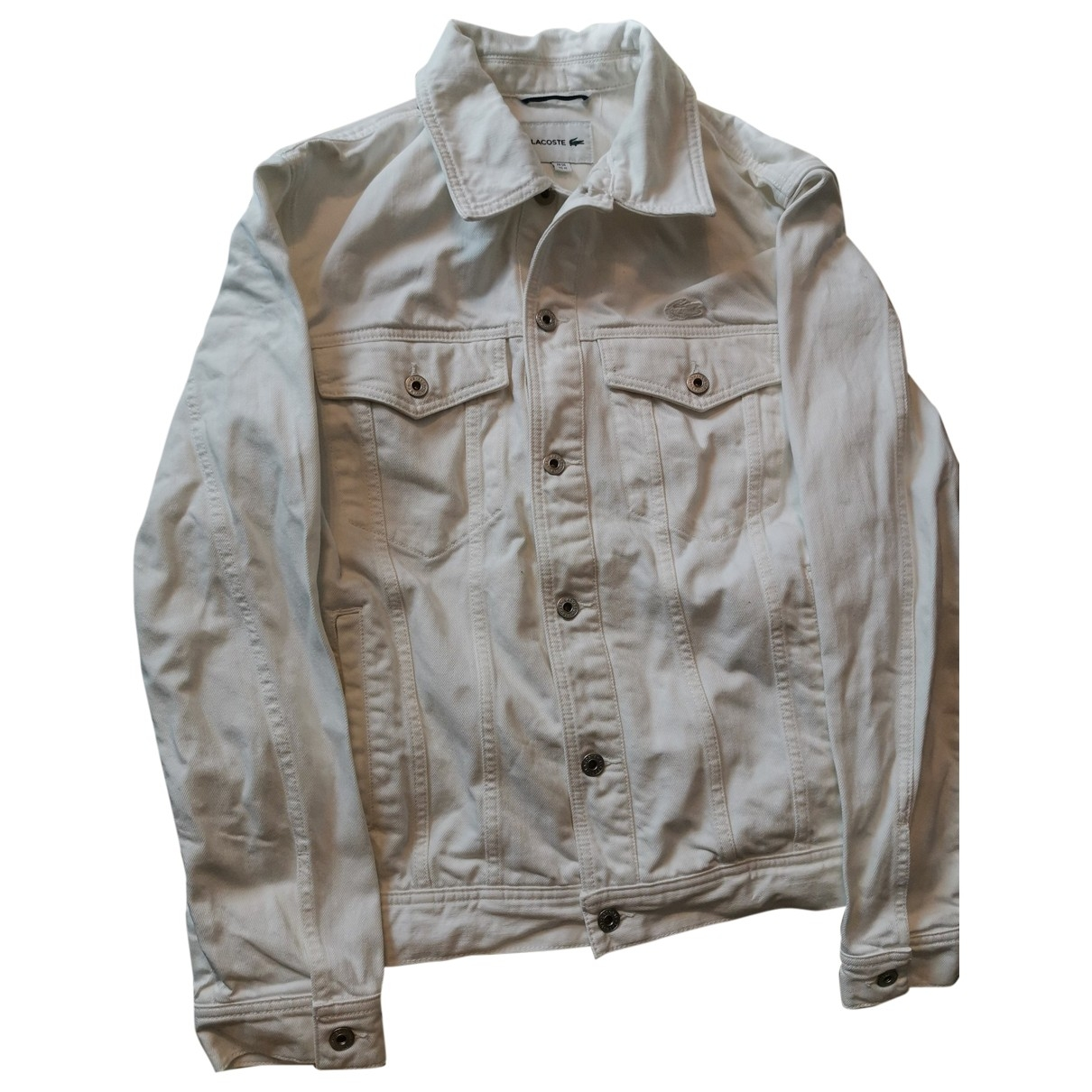 Lacoste \N White Cotton jacket  for Men M International