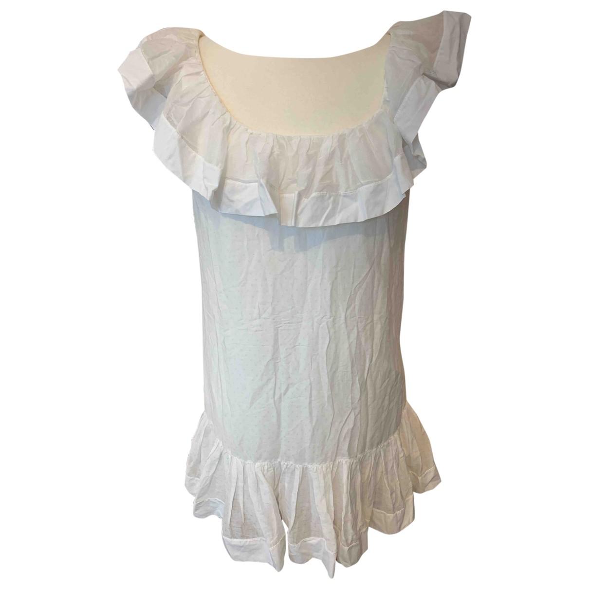 Red Valentino Garavani N White Cotton dress for Women 10 UK