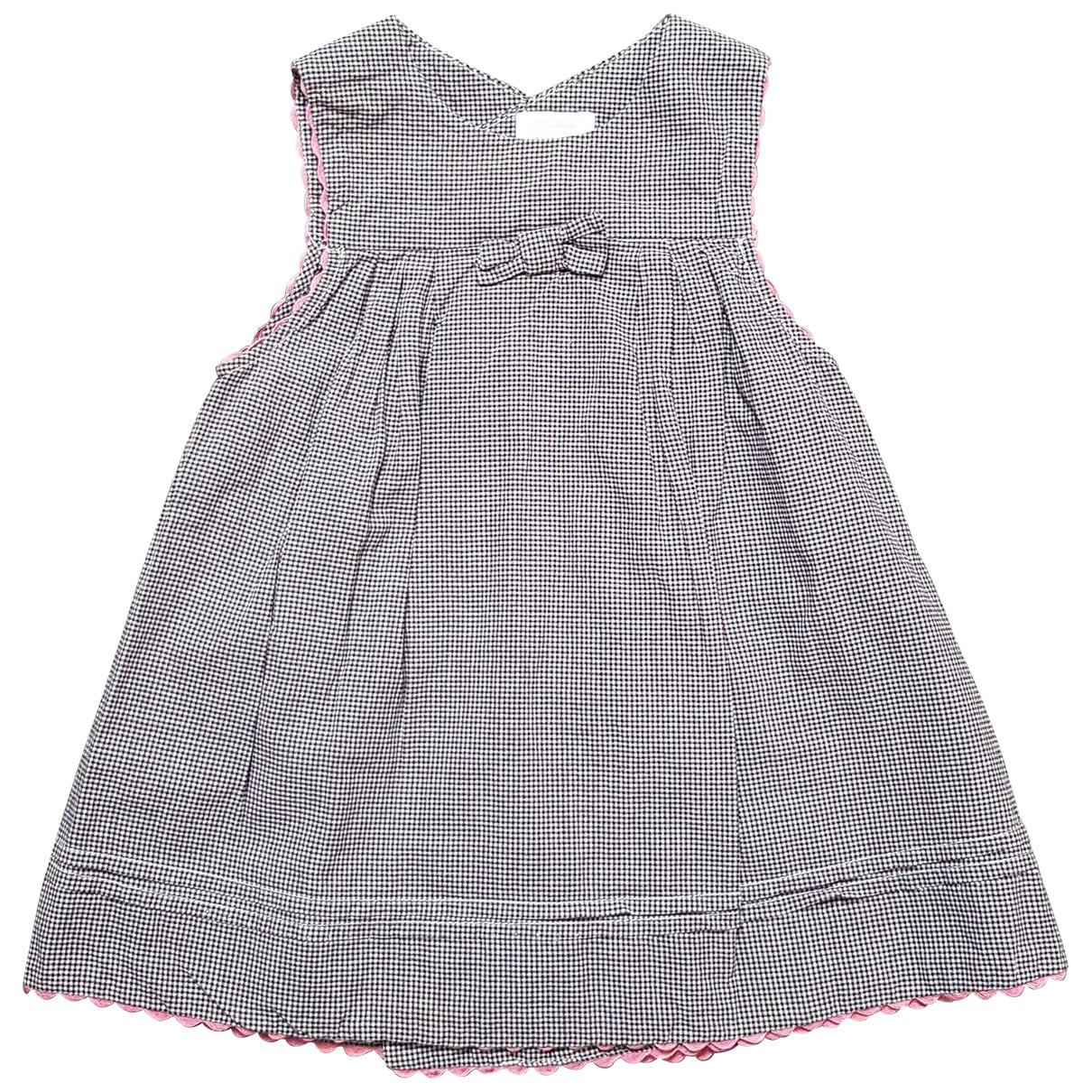 Jacadi - Robe    pour enfant en coton - noir