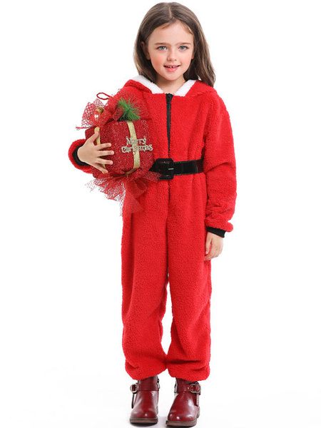 Milanoo Disfraz Halloween Pijama Kigurumi Onesie Christmas Coral Fleece Kid Jumpsuit Carnaval Halloween