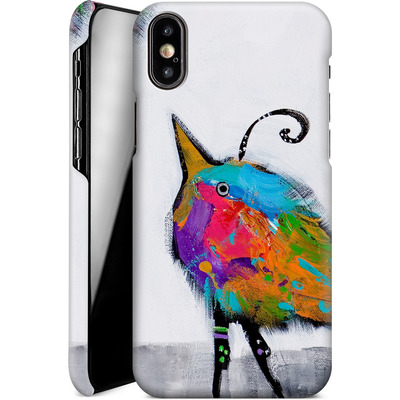 Apple iPhone X Smartphone Huelle - Two Cute Chicks von Jenny Foster