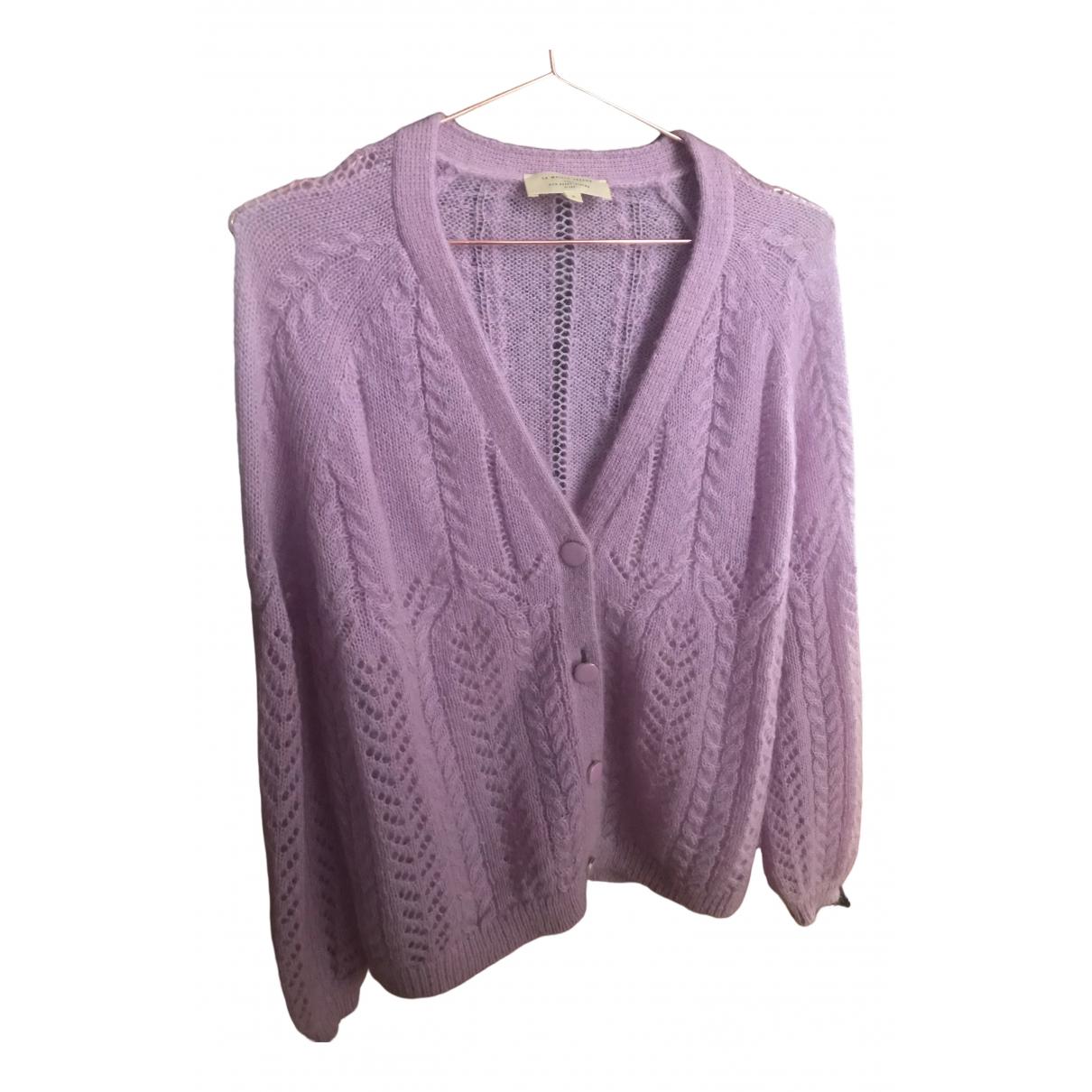 Sezane - Pull Spring Summer 2020 pour femme en laine - violet