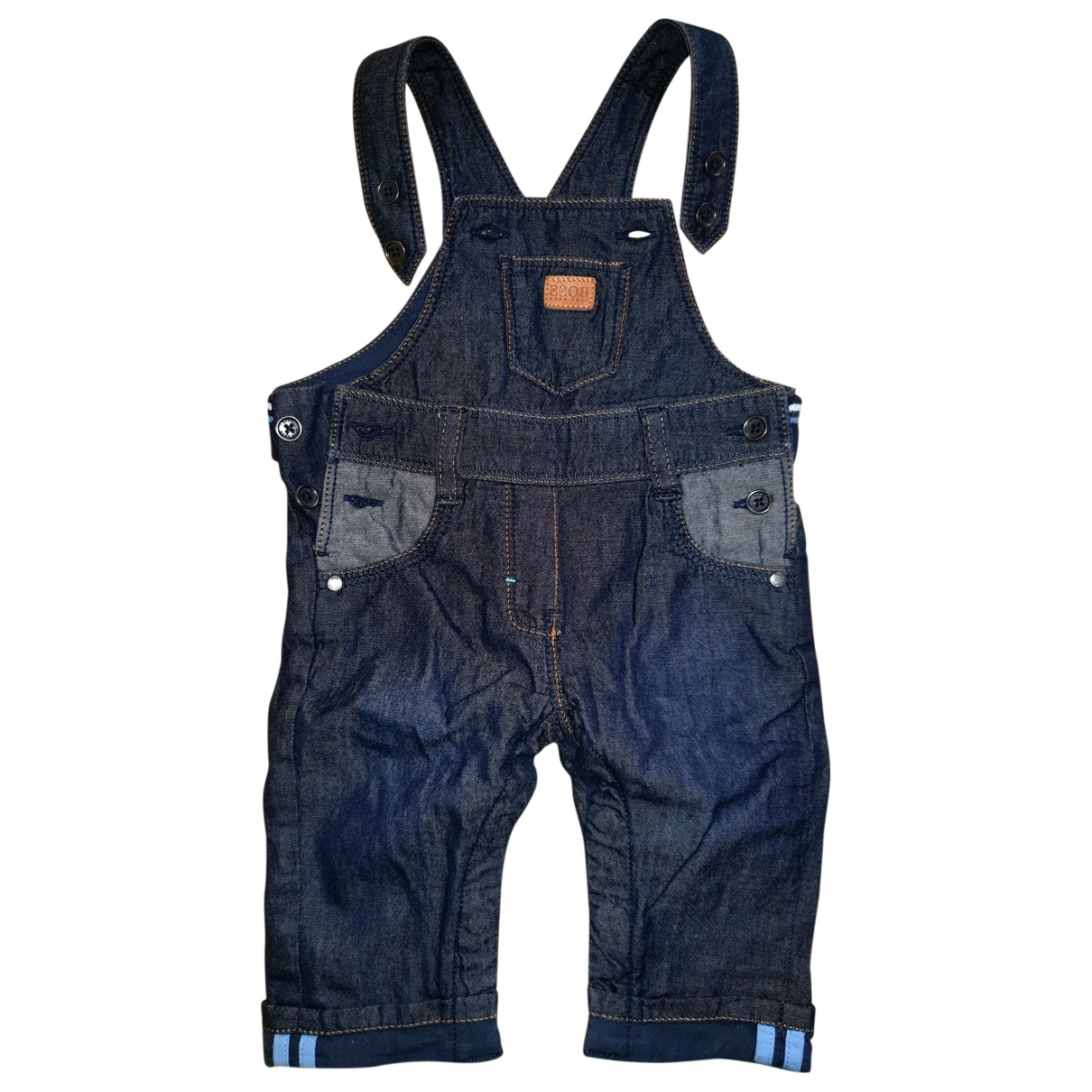 Boss \N Blue Denim - Jeans Trousers for Kids 3 months - up to 60cm FR