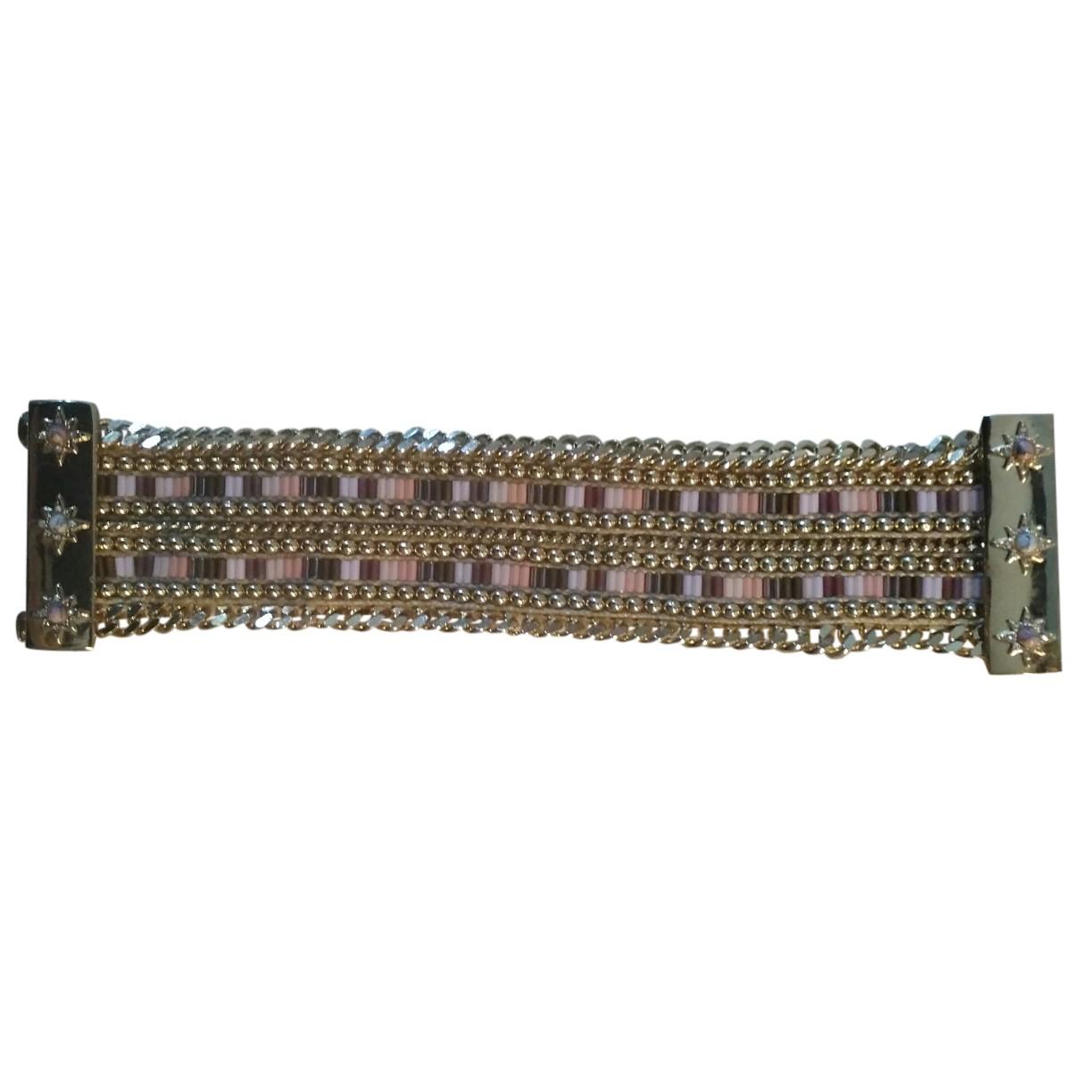 Hipanema - Bracelet   pour femme en acier - rose