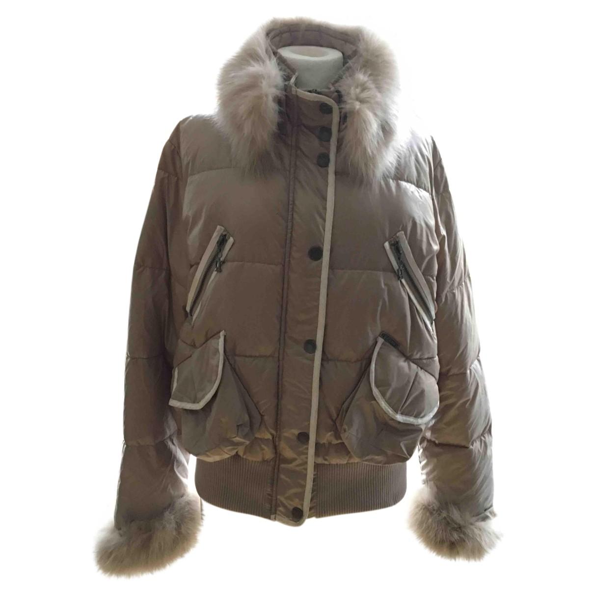 Galliano N Beige jacket for Women 46 IT