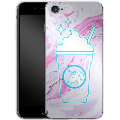 Apple iPhone 6s Plus Silikon Handyhuelle - Unicorn Frappuccino von caseable Designs