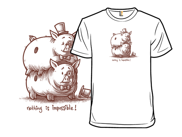 The Piggy Back T Shirt